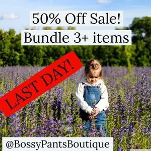 🚨 50% off sale 🚨 Bundles now 50% off half price